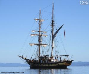 Ein Segelboot puzzle