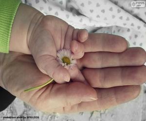 Eine Blume für Mama puzzle