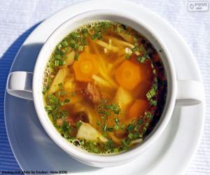 Eine heiße Suppe puzzle