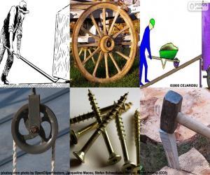 Einfache Maschinen puzzle