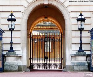 Eingang zum Buckingham Palace puzzle