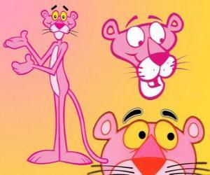 Einige Bilder von Die Pink-Panther-Reihe puzzle