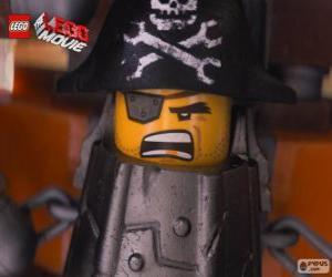 Eisenbart, ein Pirat, der an Lord Business rächen will puzzle