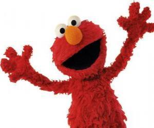 Elmo lächelt puzzle