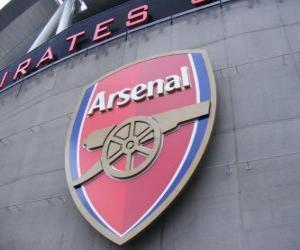 Emblemen von Arsenal F.C. puzzle