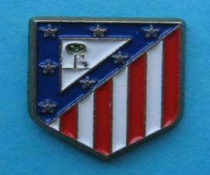 Emblemen von Atlético de Madrid puzzle