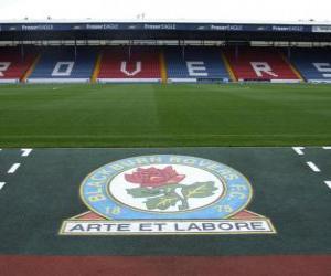 Emblemen von Blackburn Rovers F.C. puzzle