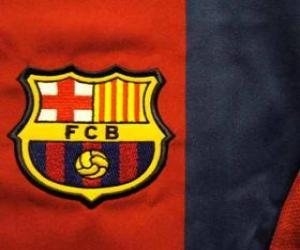 Emblemen von F. C. Barcelona puzzle