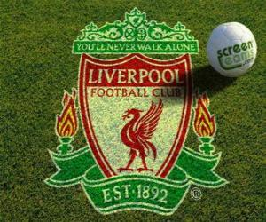 Emblemen von Liverpool F.C. puzzle