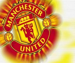 Emblemen von Manchester United F.C. puzzle