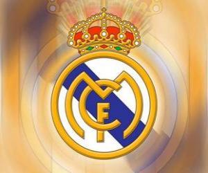 Emblemen von Real Madrid puzzle