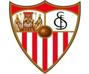 Emblemen von Sevilla F.C puzzle