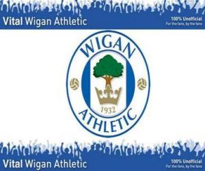 Emblemen von Wigan Athletic F.C. puzzle