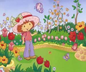 Emily Erdbeer beobachtete die Natur puzzle