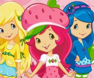 Emily Erdbeer mit ihren Freunden puzzle