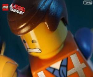 Emmet aus dem Lego der Film puzzle