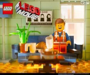 Emmet, der Protagonist des Films Lego puzzle