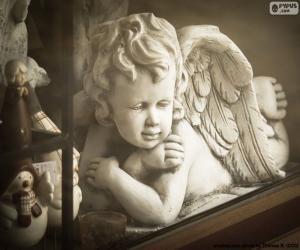 Engel mit Arme verschränkt puzzle