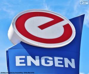 Engen Petroleum-logo puzzle