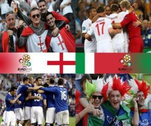 England - Italien, Viertelfinale, Euro 2012 puzzle