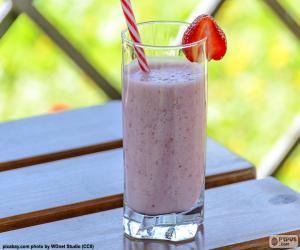 Erdbeer-shake puzzle