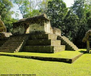 Est A-3, Seibal, Guatemala puzzle