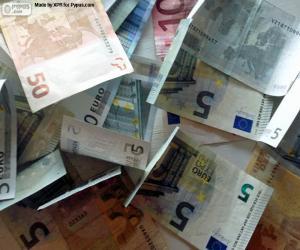 Eurobanknoten puzzle
