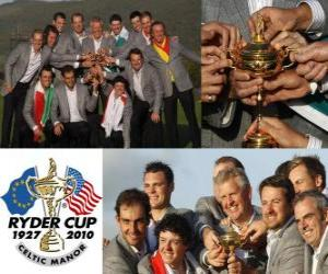 Europa gewinnt den Ryder Cup 2010 puzzle