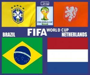 Für den 3. Platz, Brasilien 2014, Brasilien Vs Niederlande puzzle