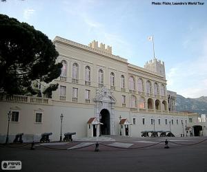 Fürstenpalast in Monaco puzzle