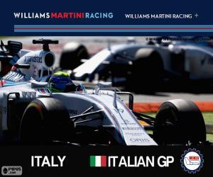 F. Massa, GP von Italien 2015 puzzle