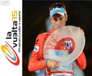 Fabio Aru Vuelta a España 2015 puzzle