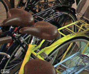Fahrräder für die Stadt puzzle