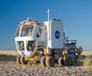Fahrzeug für die Erforschung anderer Planeten puzzle