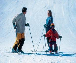 Family Ski puzzle