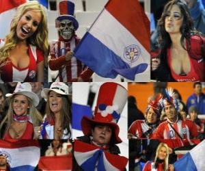 Fans von Paraguay, Argentinien 2011 puzzle
