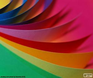 Farben-Karton puzzle