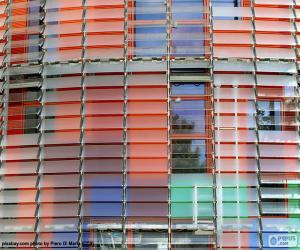 Fassade Torre Agbar, Barcelona puzzle