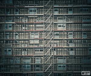 Fassaden-Gerüst puzzle