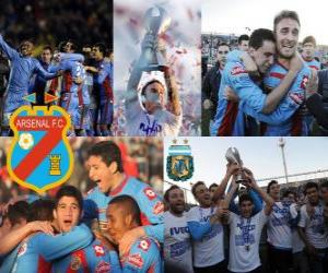 FC Arsenal, Meister Clausura 2012, Argentinien puzzle