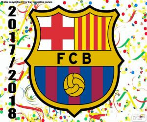 FC Barcelona, 2017-18 champion puzzle