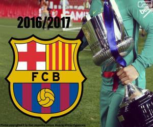 FC Barcelona, Copa del Rey 2016-17 puzzle