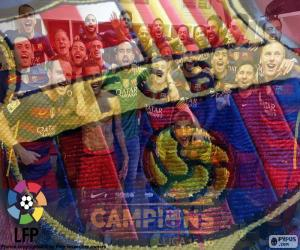 FC Barcelona, Meister 2015-2016 puzzle