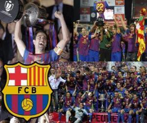 FC Barcelona meister Copa del Rey 2011-2012 puzzle