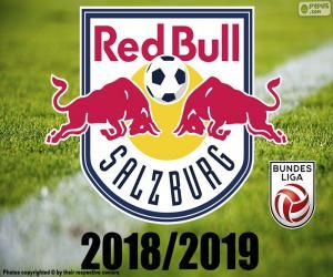 FC Salzburg, Bundesliga-2019 puzzle