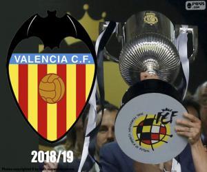 FC Valencia, Copa del Rey-2018-19 puzzle