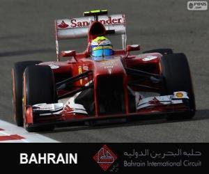 Felipe Massa - Ferrari - Bahrain International Circuit 2013 puzzle