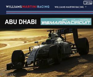 Felipe Massa, GP von Abu Dhabi 2016 puzzle