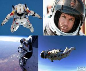 Felix Baumgartner springen Stratosphäre puzzle