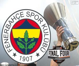 Fenerbahçe, 2017 Euroleague Meister puzzle